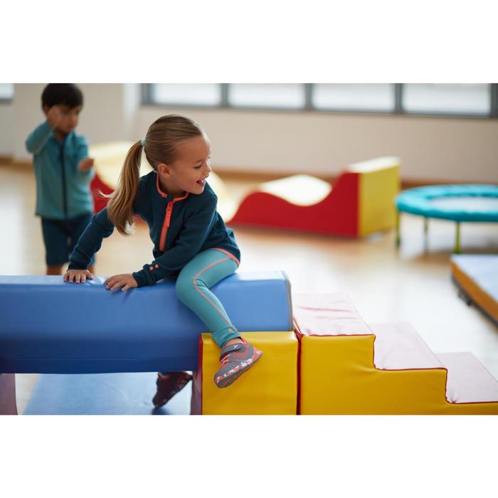 Legging 500 Baby Gym Fille Turquoise