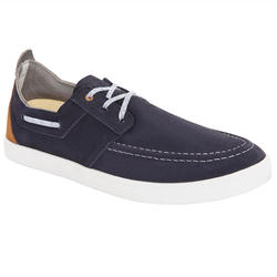 男款防滑航海鞋Sailing 300-軍藍色