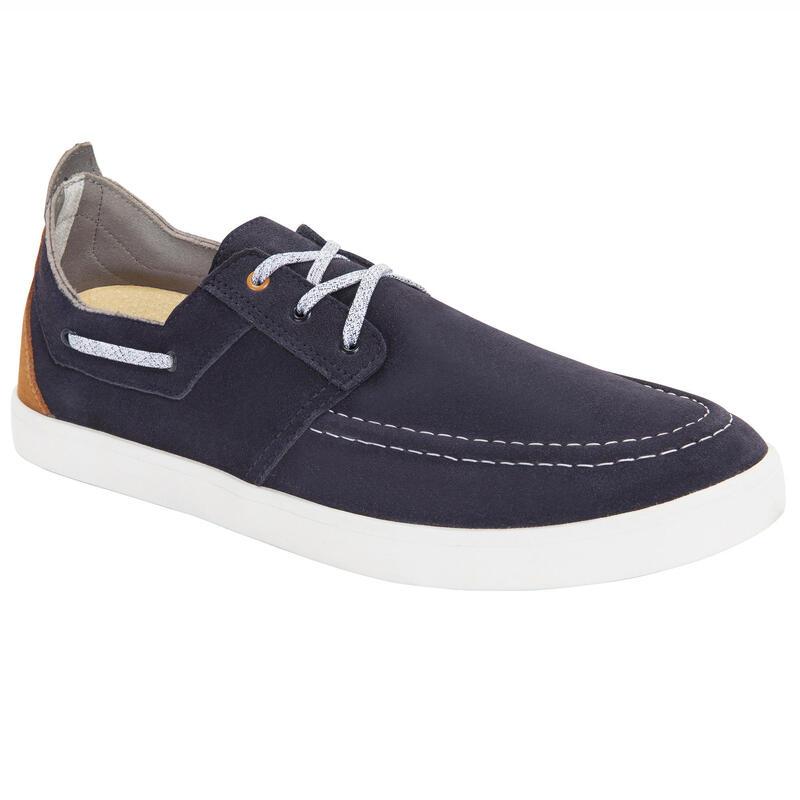 Men's Sailing Non-Slip Boat Shoes 300 - Navy