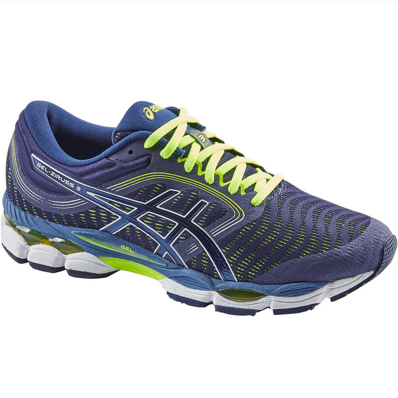 MAN ROAD RUNNING SHOES Running - GEL ZIRUSS M SS19 BLUE ASICS - Running Footwear
