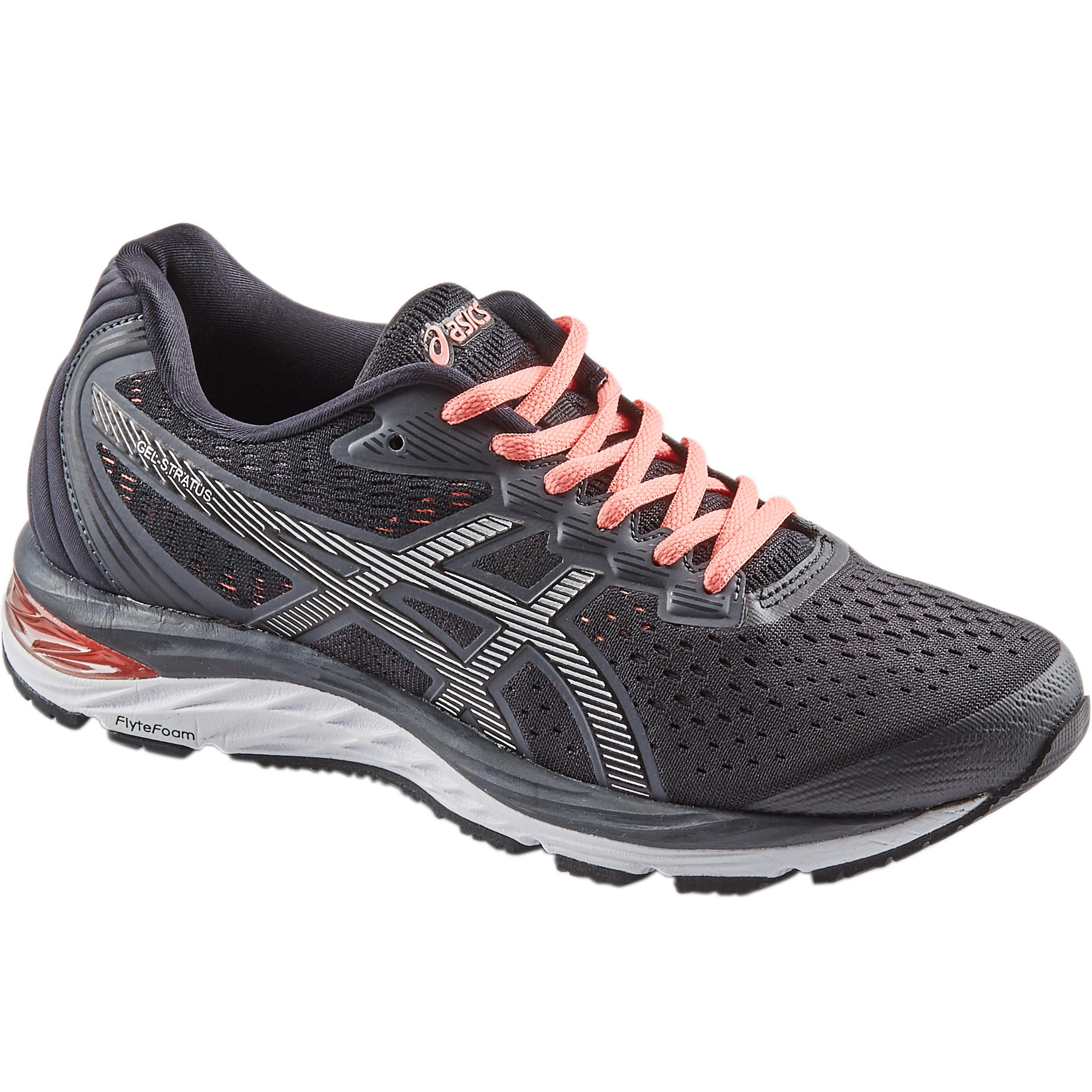 asics gel-avenue women's walking shoes black