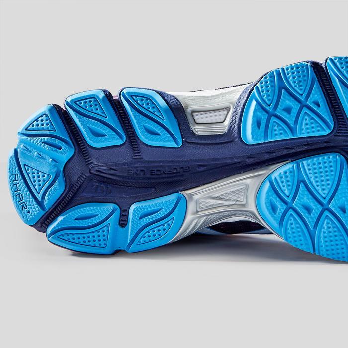 Hardloopschoenen voor dames Gel Ziruss blauw