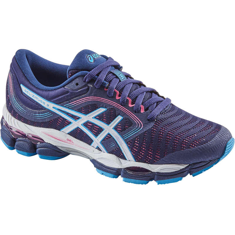 WOMAN ROAD RUNNING SHOES Running - GEL ZIRUSS W SS20 BLUE ASICS - Running