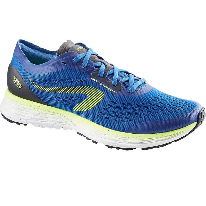Pánské běžecké boty Kiprun KS Light modro-zelené