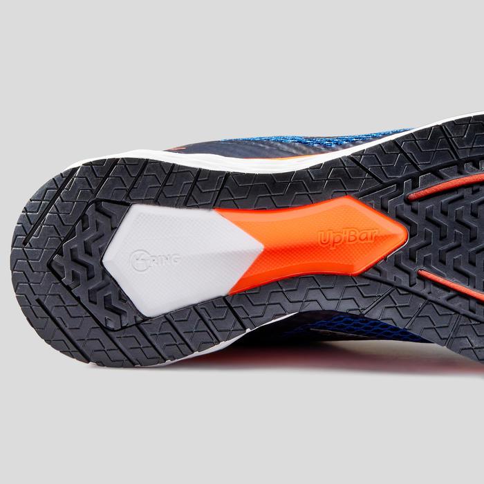 Hardloopschoenen voor heren Kiprun Fast 2 blauw/rood