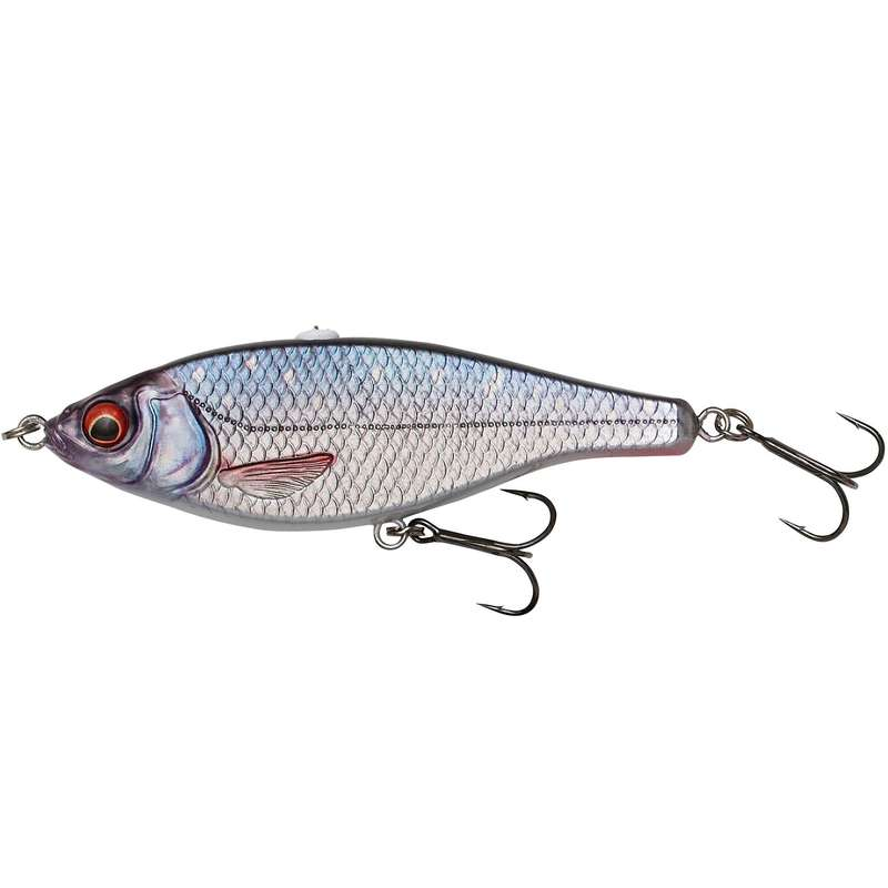 LARGE PIKE LURES Fishing - 3D ROACH JERKSTER - 14.5 ROACH NO BRAND - Fishing