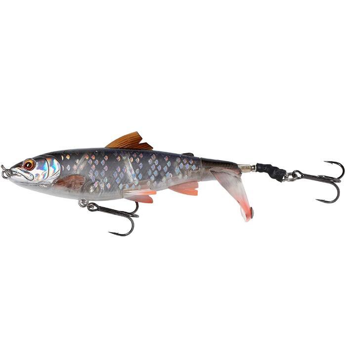 Poisson nageur pêche aux leurres carnassier 3D SMASHTAIL 10 CM ROACH