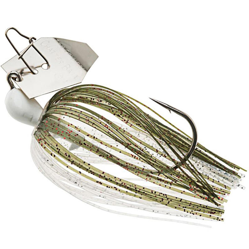 Predator Lure Fishing Spinner Chatterbait Zman Redbone 1/2oz