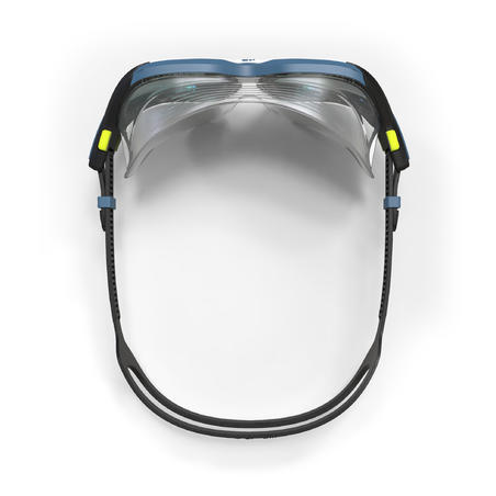 SWIMMING MASK 500 ACTIVE ASIA L BLACK WHITE MIRRORED LENSES