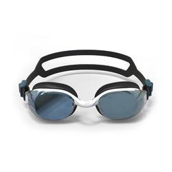 500 B-FIT鏡面鏡片泳鏡-黑白色