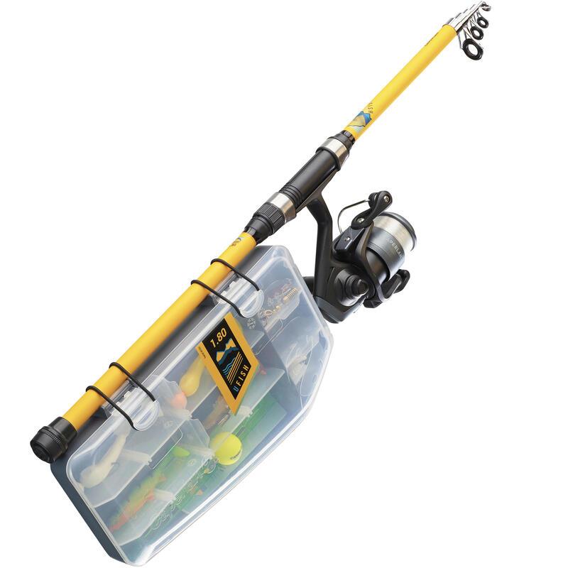 Set UFISH 180 Pescuit (Nivel Începător )