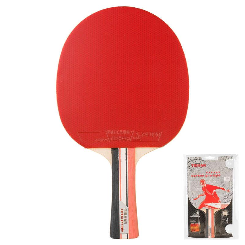 RAQUETES ACADEMIA Material de Ping Pong - RAQUETE PING PONG CARBON PRO TIBHAR - Material de Ping Pong