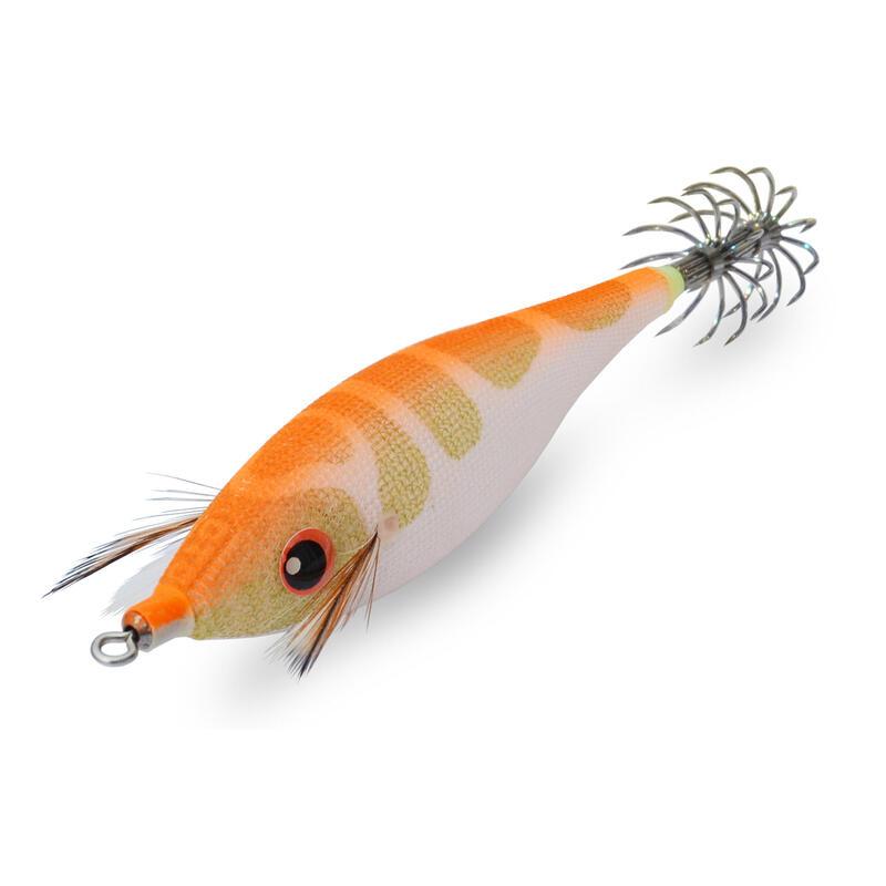 Squid jig voor zeekat / pijlinktvis Pirka oranje 2.5 7 cm