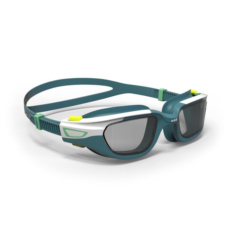 Gafas Natación Spirit Blanco/Verde Cristales Ahumados Talla S
