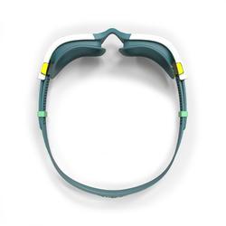 Zwembril 500 Spirit maat S blauw/wit getinte glazen