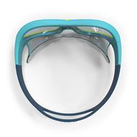 Маска для плавання Swimdow 100, розмір S - Синя/Жовта