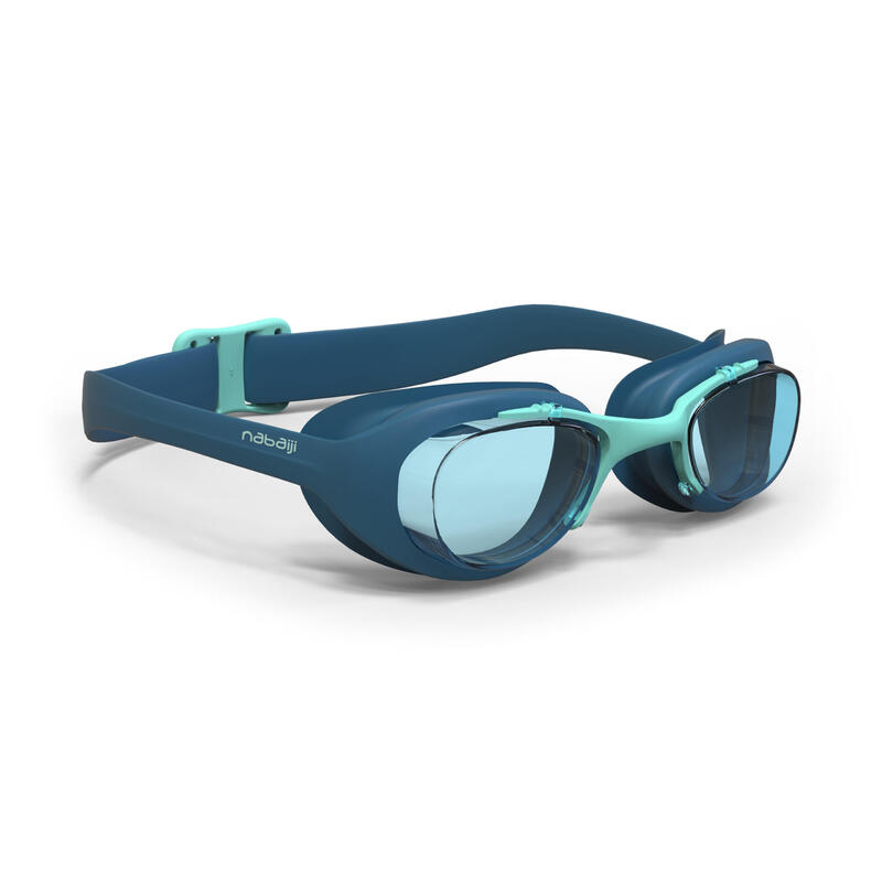 SWIMMING GOGGLES XBASE L CLEAR LENSES - BLUE