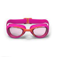 Goggles Natación 100 Xbase Rosa Coral Talla CH