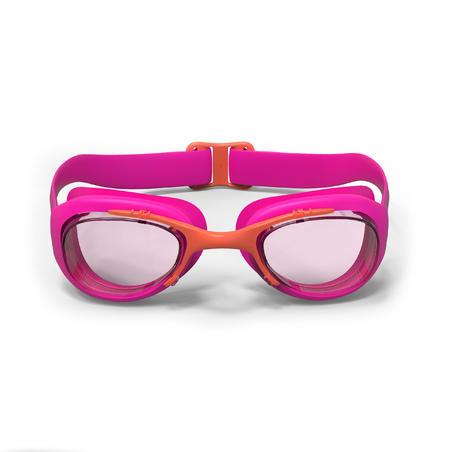 Окуляри для плавання Xbase 100, розмір S - Рожеві