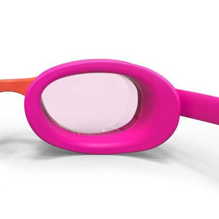 Gafas Lentes Claros Natación Xbase Rosa Coral S