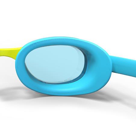Окуляри для плавання 100 Xbase для плавання, розмір S - Сині/Жовті
