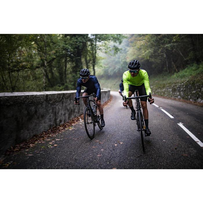 Fahrrad Windjacke Rennrad RR 500 Herren gelb