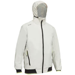 MEN'S SAILING YACHT RACING ANORAK RACE 100 - GREY