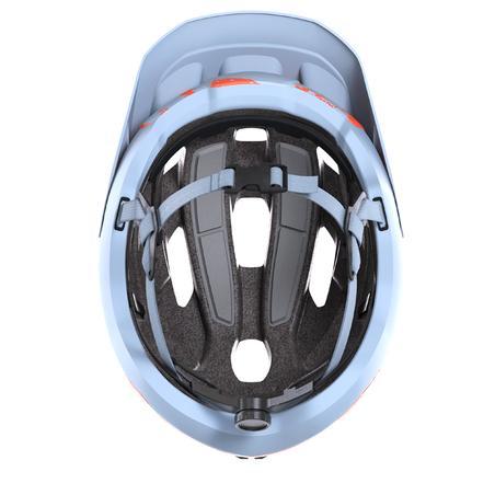 Mountain Biking Helmet ST 500 - Blue/Orange