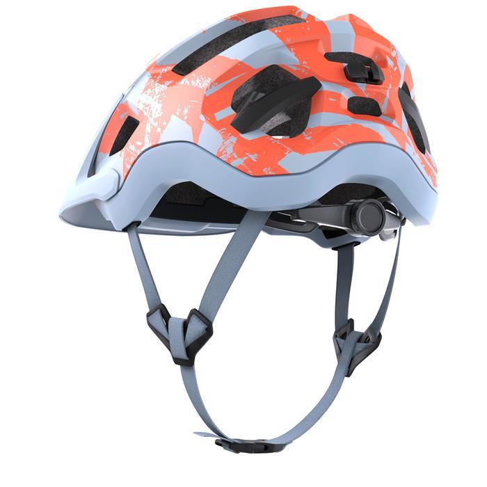 Mountain Bike Helmet ST 500 - Blue/Red
