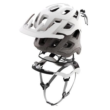 Mountain Bike Helmet ST 500 - White