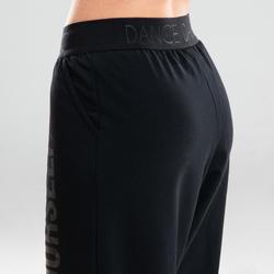 Pantalon danse moderne noir ample femme