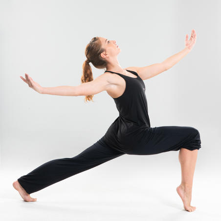Camisole de danse moderne fluide noire – Femmes
