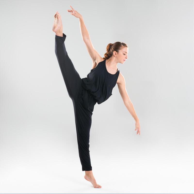 Dámská kombinéza na moderní tanec černá