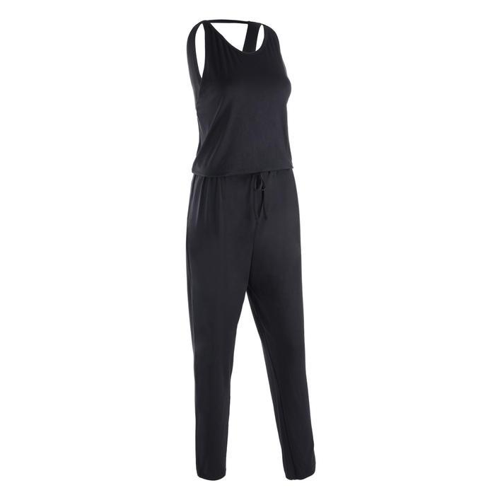 Jumpsuit voor moderne dans dames zwart