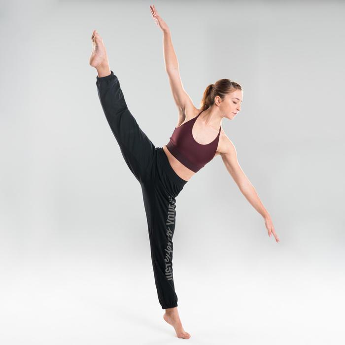 Brassière danse moderne bordeaux femme