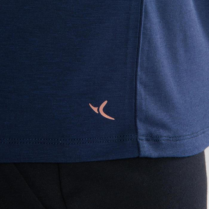 T-shirt danse moderne bleu marine fluide femme