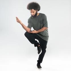 Camiseta danzas urbanas caqui hombre