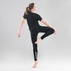 Legging danse moderne noir fille