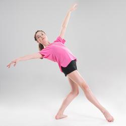 Soepel T-shirt moderne dans meisjes roze