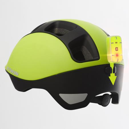 """Miesto dviratininko šalmas """"540"""", geltonas"""