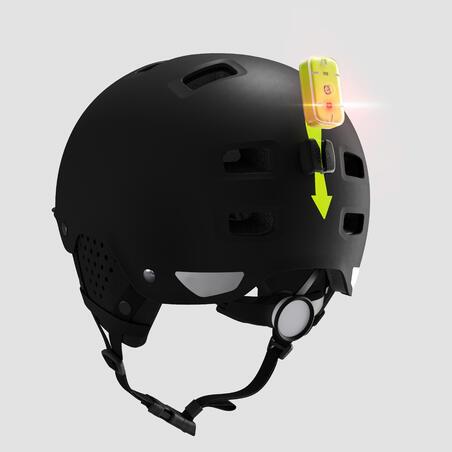 """Dubens formos miesto dviratininko šalmas """"500"""", juodas"""