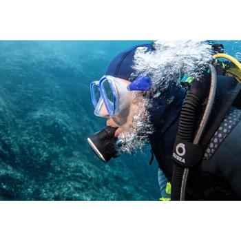 Pack détendeur de plongée avec manomètre octopus SCD 500 DIN 300 piston compensé
