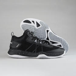 Men's Mid-Rise Basketball Shoes SC500 - Black