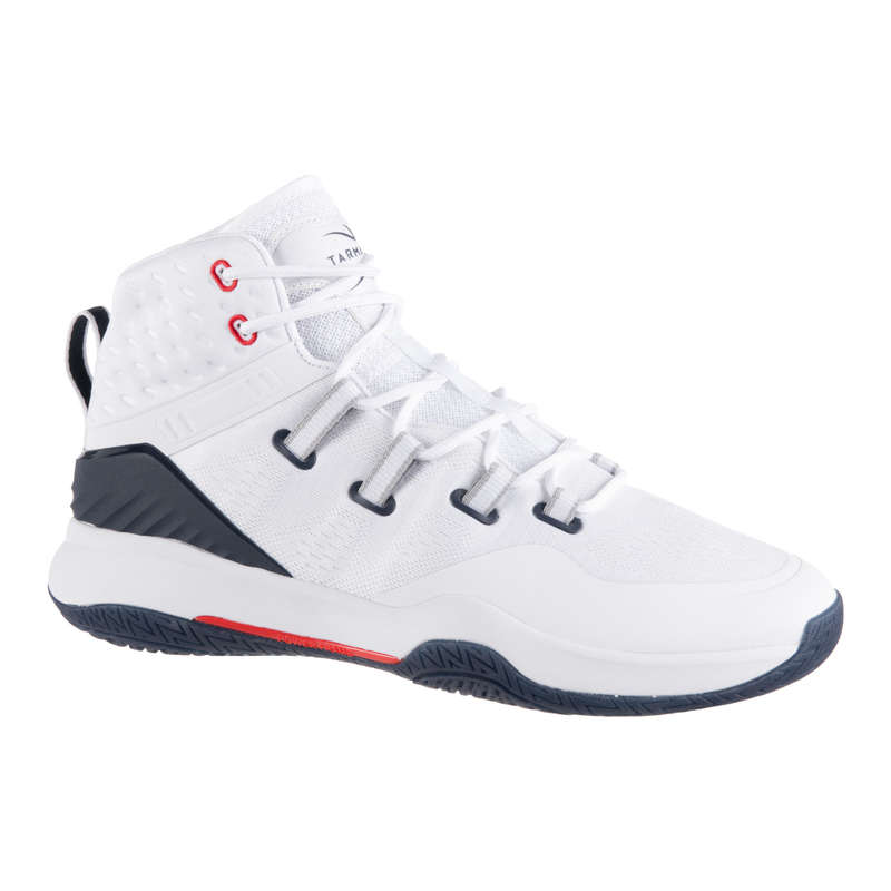 MAN BASKETBALL FOOTWEAR Basketball - SC500 High - White TARMAK - Basketball