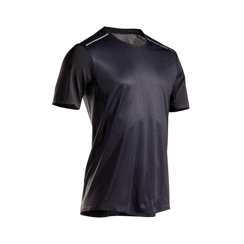 ABBIGLIAMENTO RUNNING LEGGERO UOMO Running, Trail, Atletica - T-shirt uomo KIPRUN LIGHT nera KIPRUN - Running, Trail, Atletica