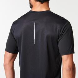 Ademend hardloopshirt voor heren Kiprun Light zwart