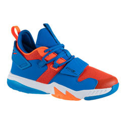 Boys'/Girls' Intermediate Basketball Shoes SS500M - Orange/Blue