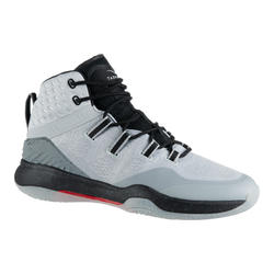 Men's High-Rise Basketball Shoes SC500 - White/Black