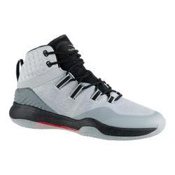 男款高筒籃球鞋SC500 - 白黑配色