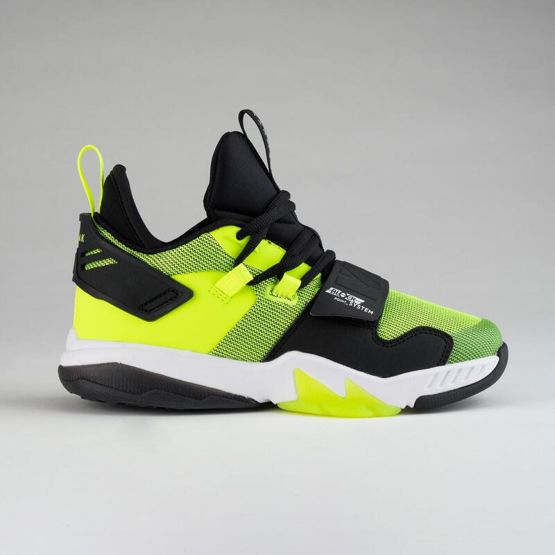 Çocuk Basketbol Ayakkabısı - Siyah / Sarı - SS500M